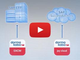 dormakaba Zutrittskontrolle und Zeiterfassung mit SAP ERP und SAP SuccessFactors