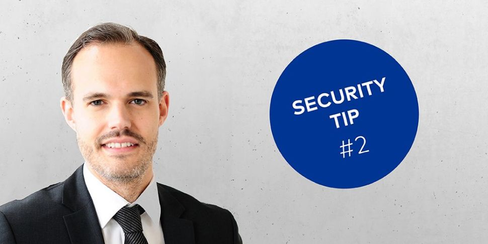 dormakaba Security Tip #2