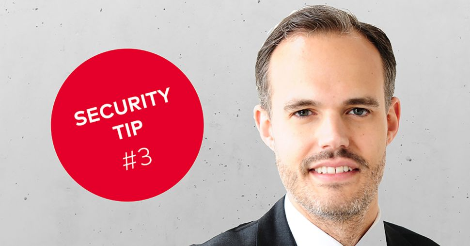 dormakaba Security Tip #3