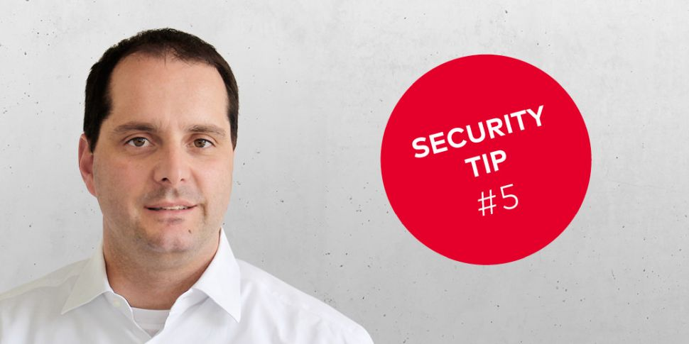 dormakaba Security Tip #5
