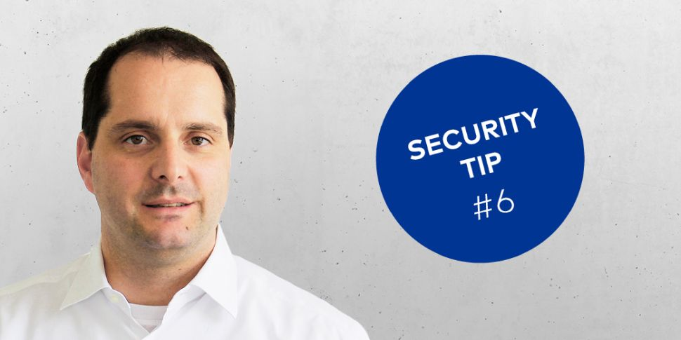 dormakaba Security Tip #6