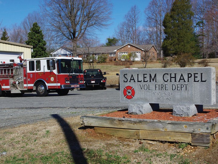 Salem Chapel Volunteer Fire Dept.