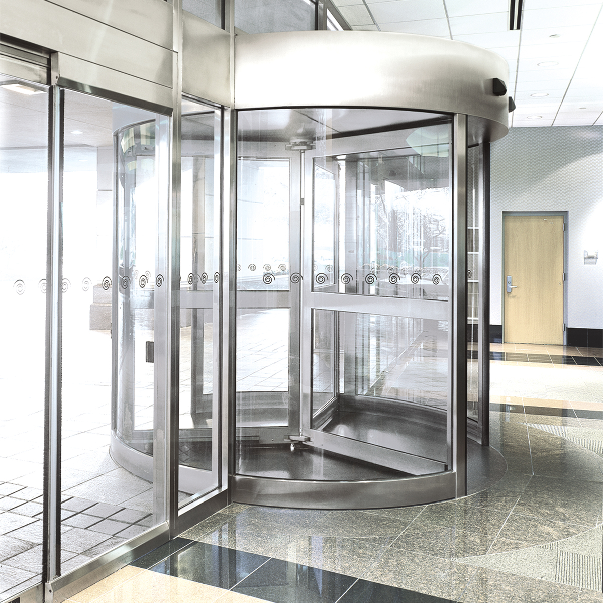 Crane 2000 Series Revolving Door World Class Style And