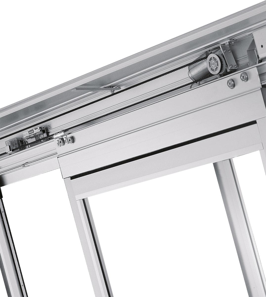 Dorma Esa 100 Commercial Fixed Panel Automatic Sliding Door
