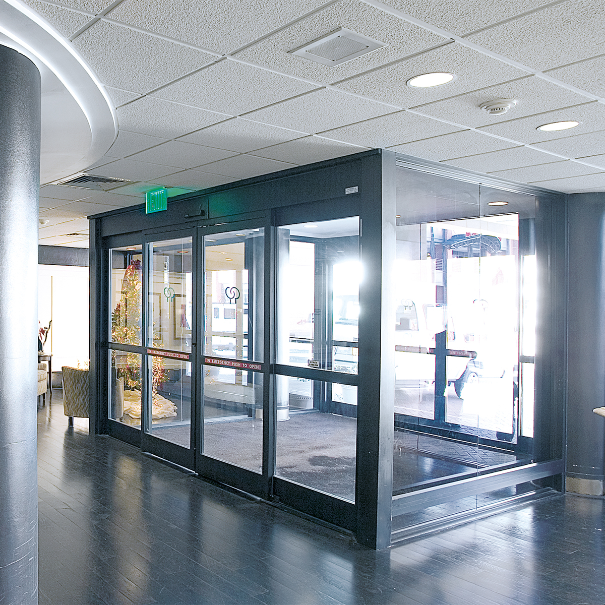 Dorma Esa 300 Commercial Full Breakout Automatic Sliding Door