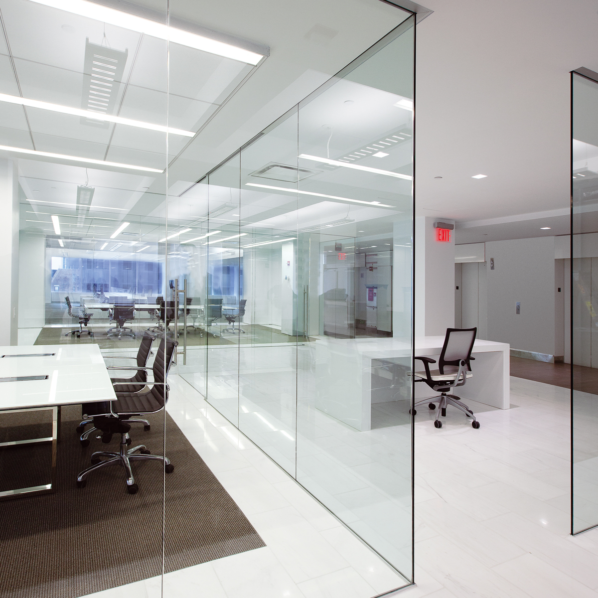 DORMA Interior Glass Wall Systems – Transparency and Versatility