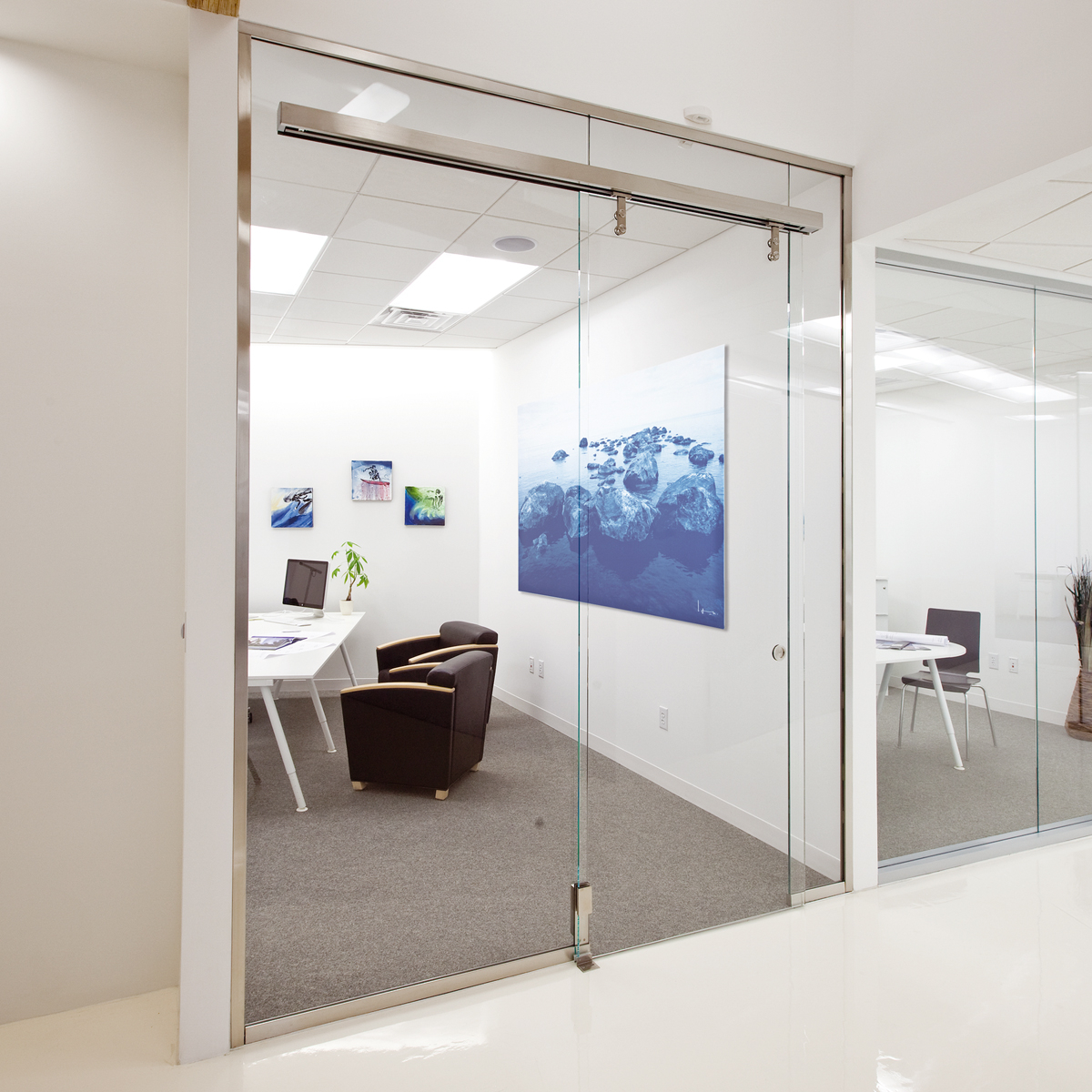 Dorma Interior Glass Wall Systems Transparency And Versatility