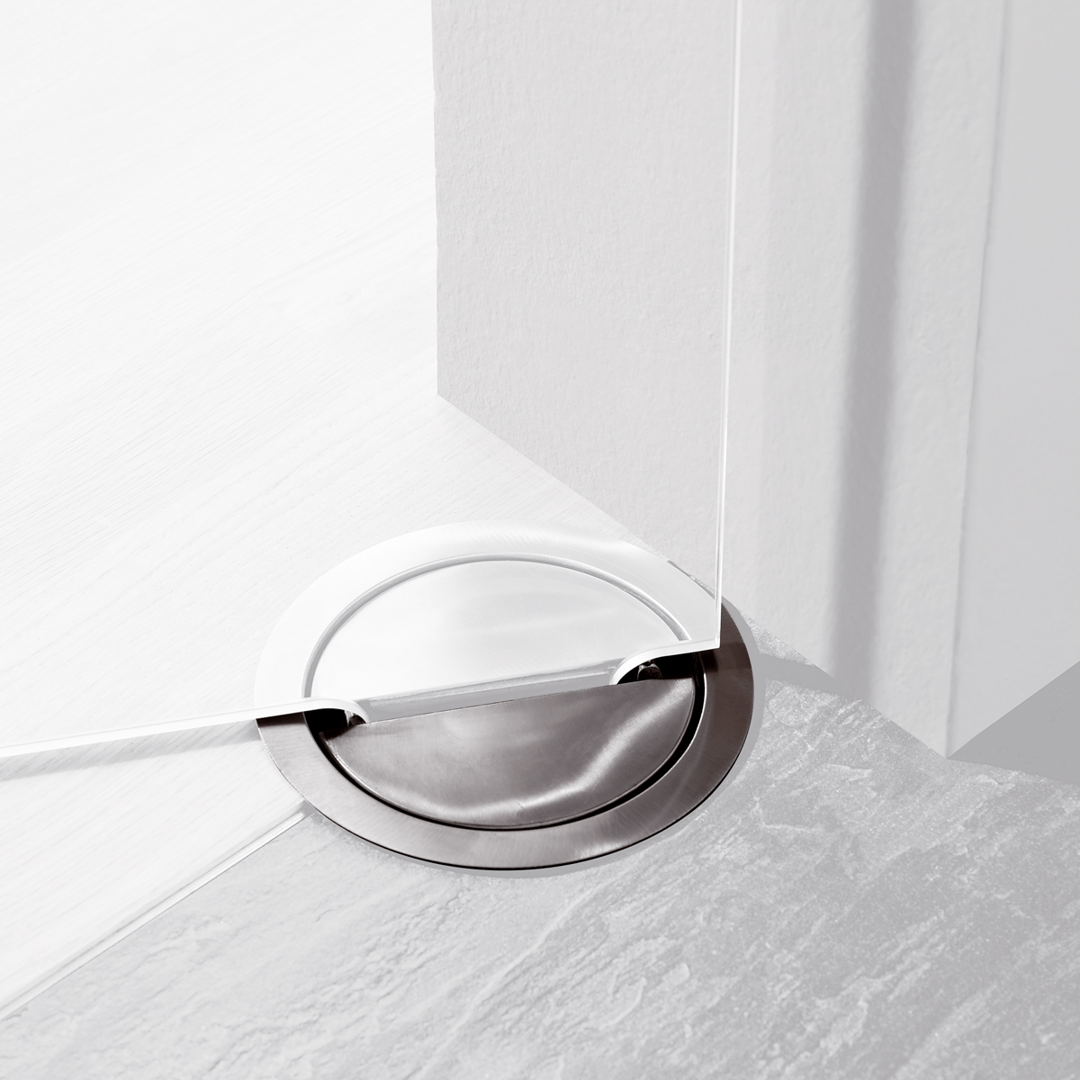 Dorma Visur Concealed Hardware For Double Acting Doors