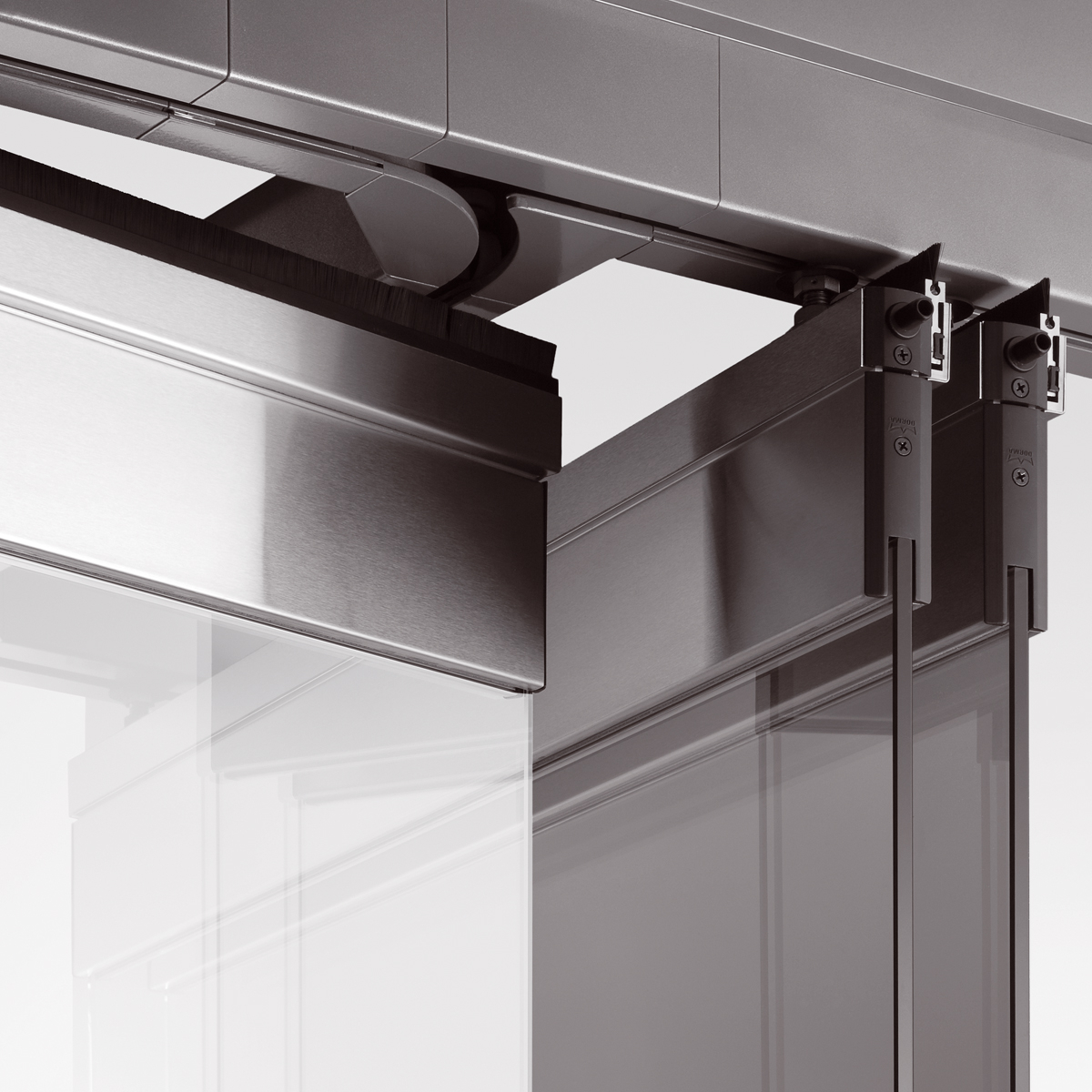 Horizontal and folding sliding wall systems for Sliding glass walls