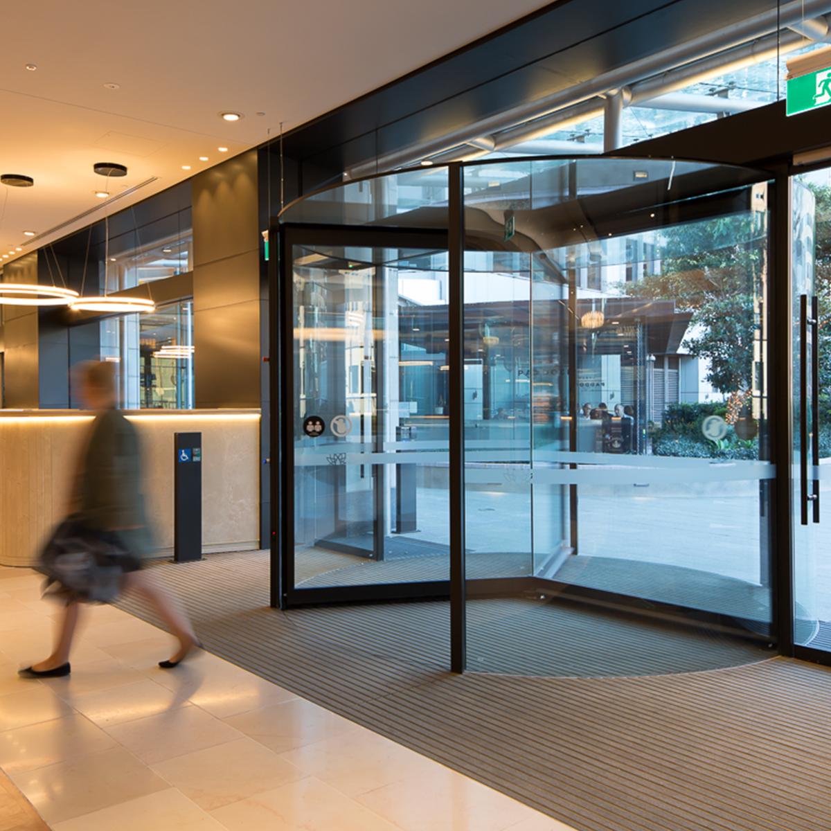 Dorma Ktv Atrium Plus Revolving Door Clear By Design