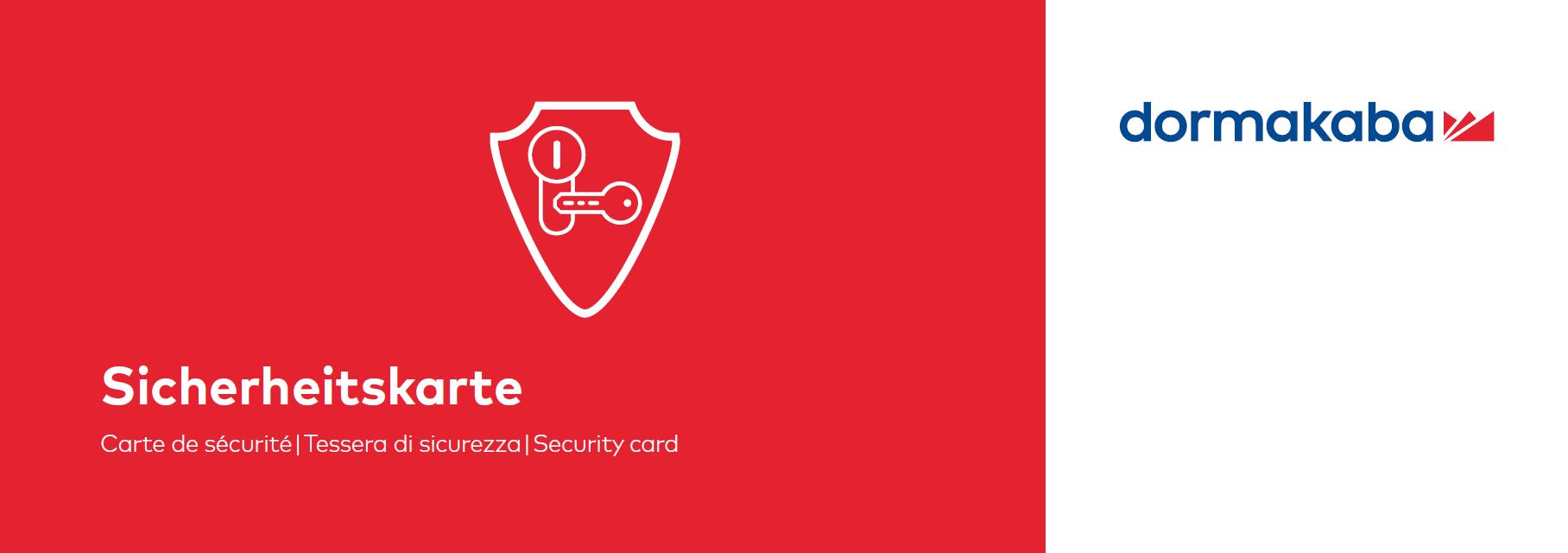 Sicherheitskarte für web