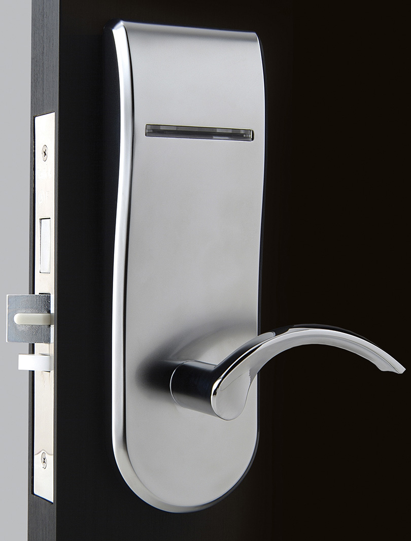 Dormakaba KABA ILCO 790 Series Saflok RT Right Hand Satin Chrome Electronic Lock