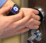 mobile access smartwatch enabled door locks