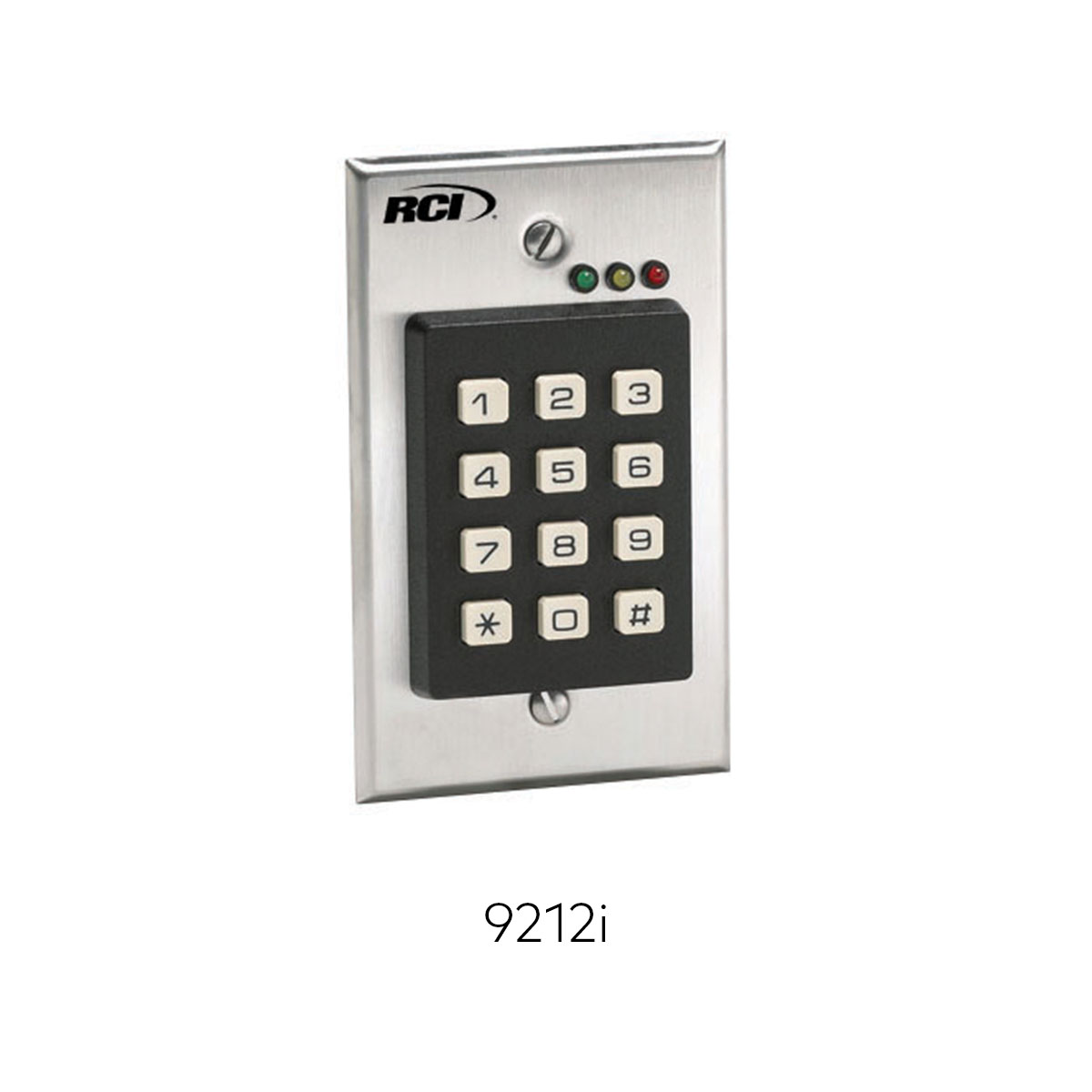 9212 Keypad Readers Credentials Rci Dormakaba Four Digit Operated Switch 9212i Ead