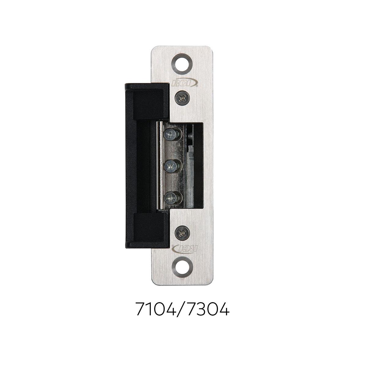 7 Series Centerline Electric Strikes Rci Dormakaba Strike Door Lock Wiring Diagram Harness 7104 7304 Ead