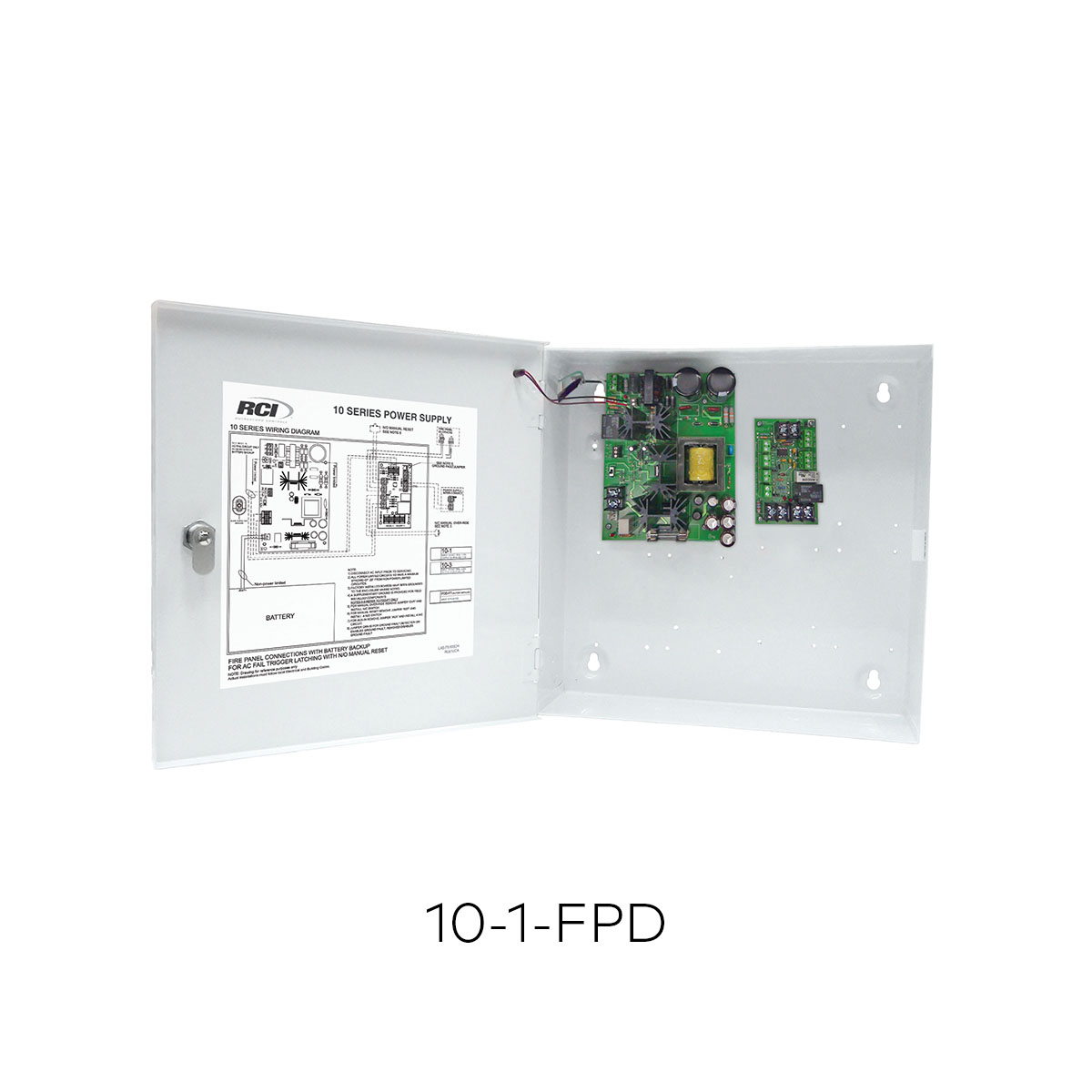 10-1/10-1-FPD - Power Supplies (RCI) | dormakaba on