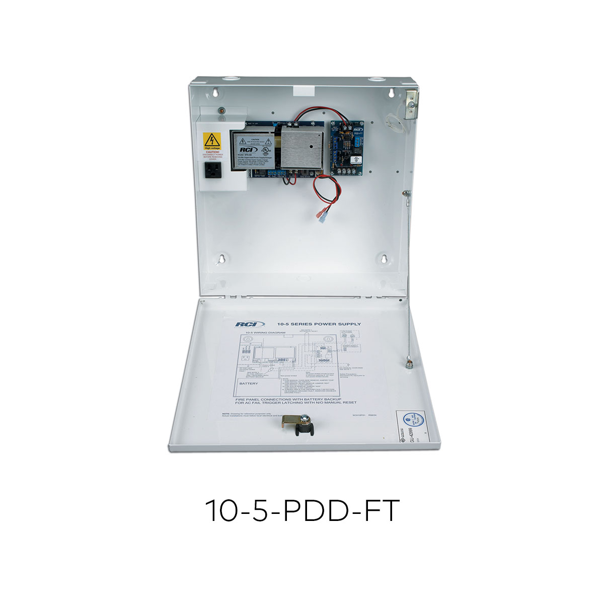 10 5 Pdd Ft Power Supplies Rci Dormakaba Innovative Circuit Ict120124a Comm Series 120vac 12vdc 4 Amp Ead