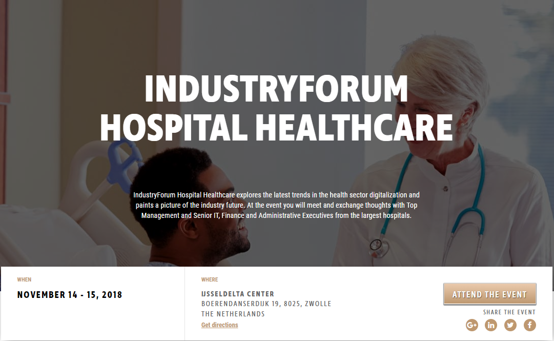 Industry forum hospital healthcare