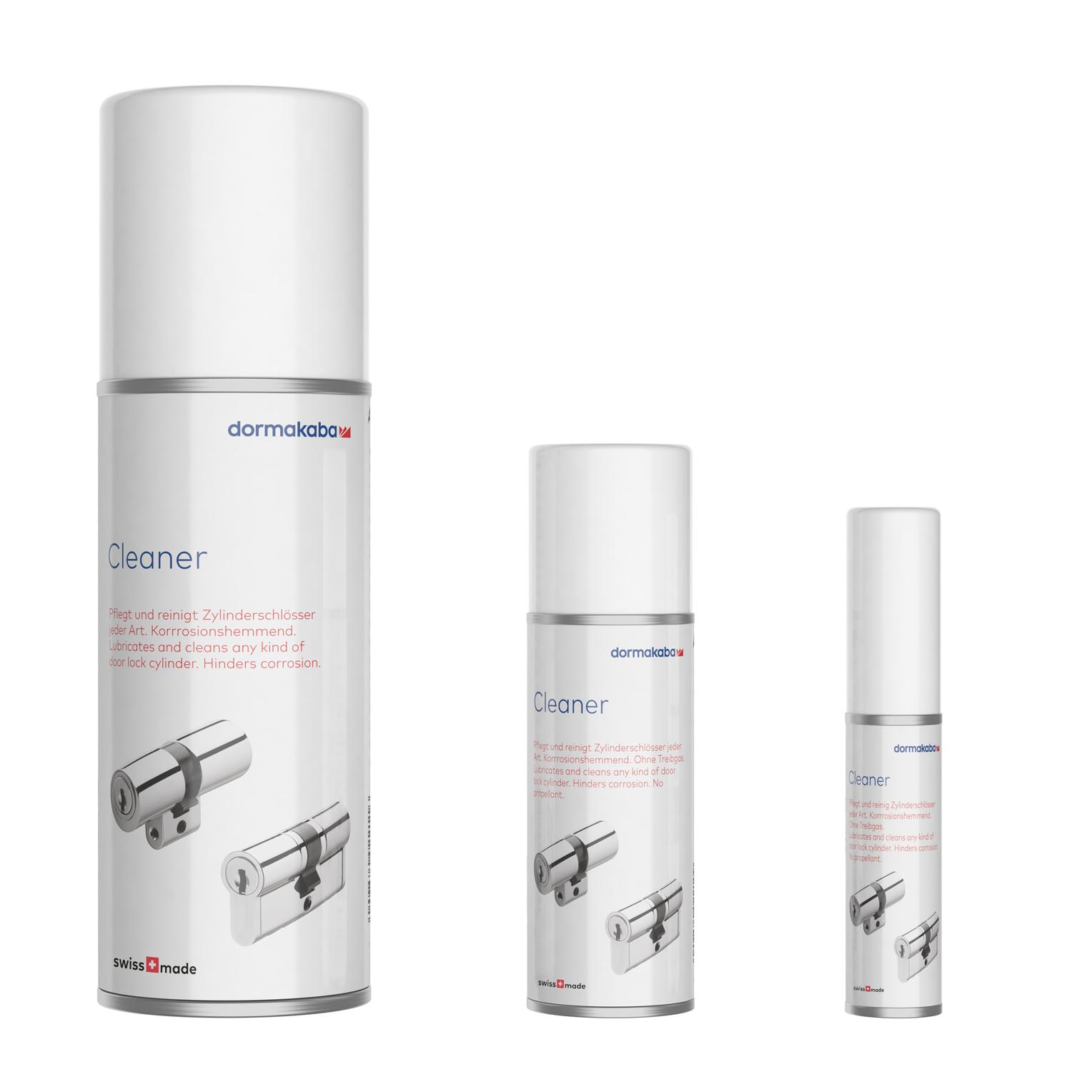 Extrem cleaner – Professionelle Wartung und Pflege für Schließzylinder NC33