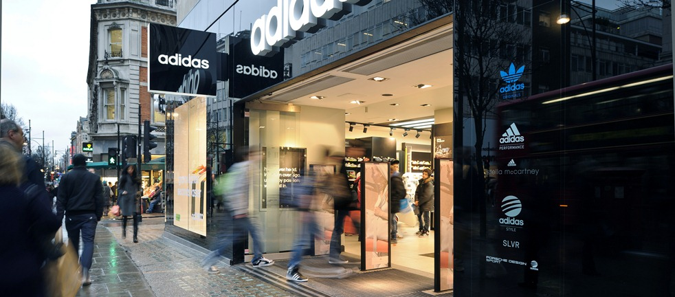 adidas boutique london