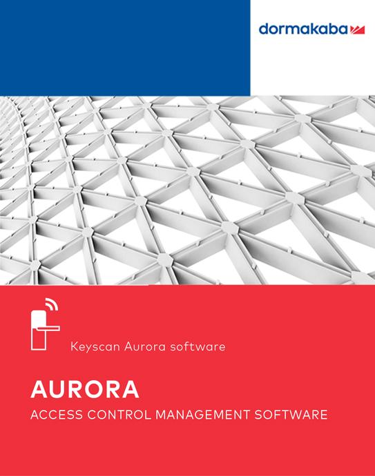 Keyscan Aurora - Access Control Management Software | dormakaba