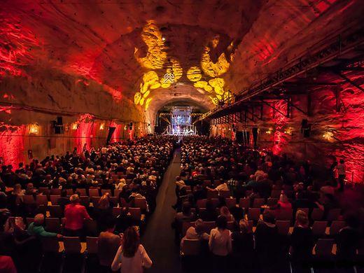 Bergwerk Merkers Konzertsaal
