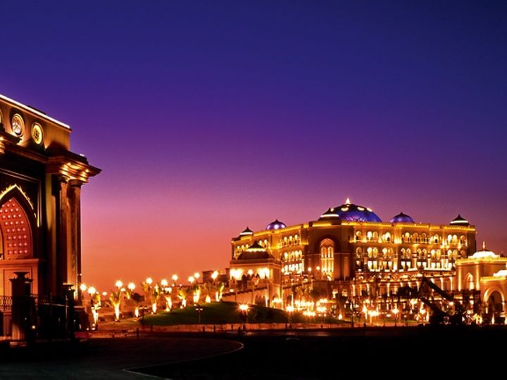 Emirates Palace, Abu Dhabi (UAE)