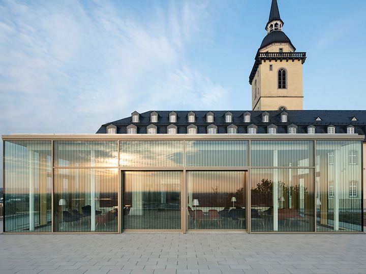 Abtei Michaelsberg Frontansicht