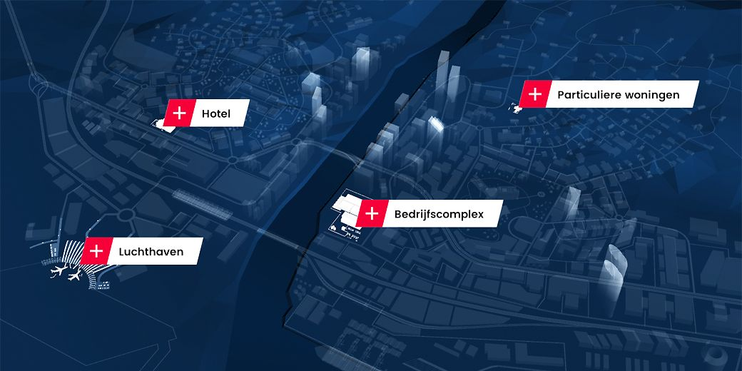 dormakaba 360 City App - De virtuele wereld van dormakaba