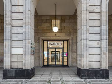Rathaus Mannheim Außenfassade