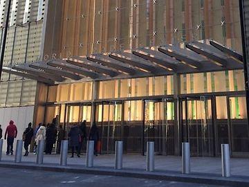 Entrance one world trade center