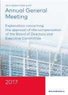 Thumbnail Explanation concerning the approval of the compensation of the Board of Directors and Executive Committee